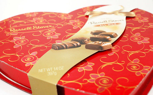 Russell Stover Chocolate Heart
