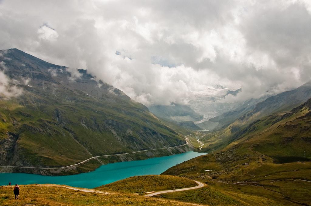 lac / glacier de moiry