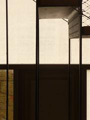 window and stair composition 01 (tsaaby) Tags: architecture copenhagen dance dans kbenhavn nordvest arkitektur bispebjerg dancehouse witraz dansinordvest dansehus