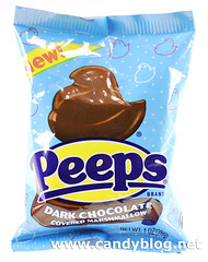 Dark Chocolate Covered Marshmallow Peeps