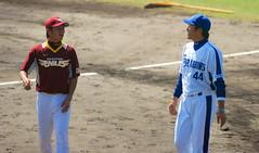 DSC_4997 (dragonsfanatic) Tags: camp training geotagged spring baseball dragons chunichi okinawa  eagles goldeneagles ballpark chatan 2010  rakuten        geo:lat=26311680 geo:lon=127758360