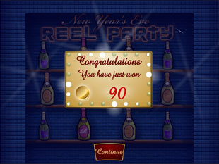free Reel Party slot bonus feature