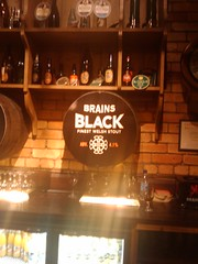Brains Black Stout