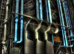 """Paris""""Pompidou Centre"""" (Maurizio Carlieri) Tags: paris france center pompidou hdr finepix5600 mywinners"""