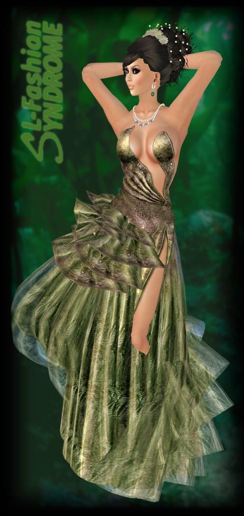 Miamai Kerelle Gown Forest 1