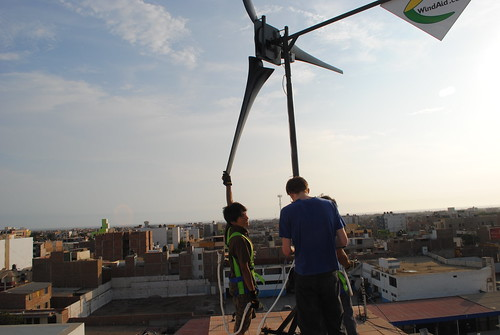 טורבינה על הגג