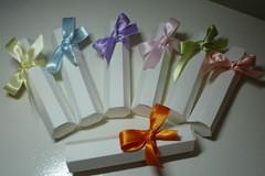 Caixinha Tubo (Ateli Lunna Design Lembranas Criativas) Tags: bombons trufas amndoas bemcasados caixinhaparapodemel