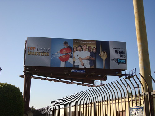 Top Chef Masters billboard