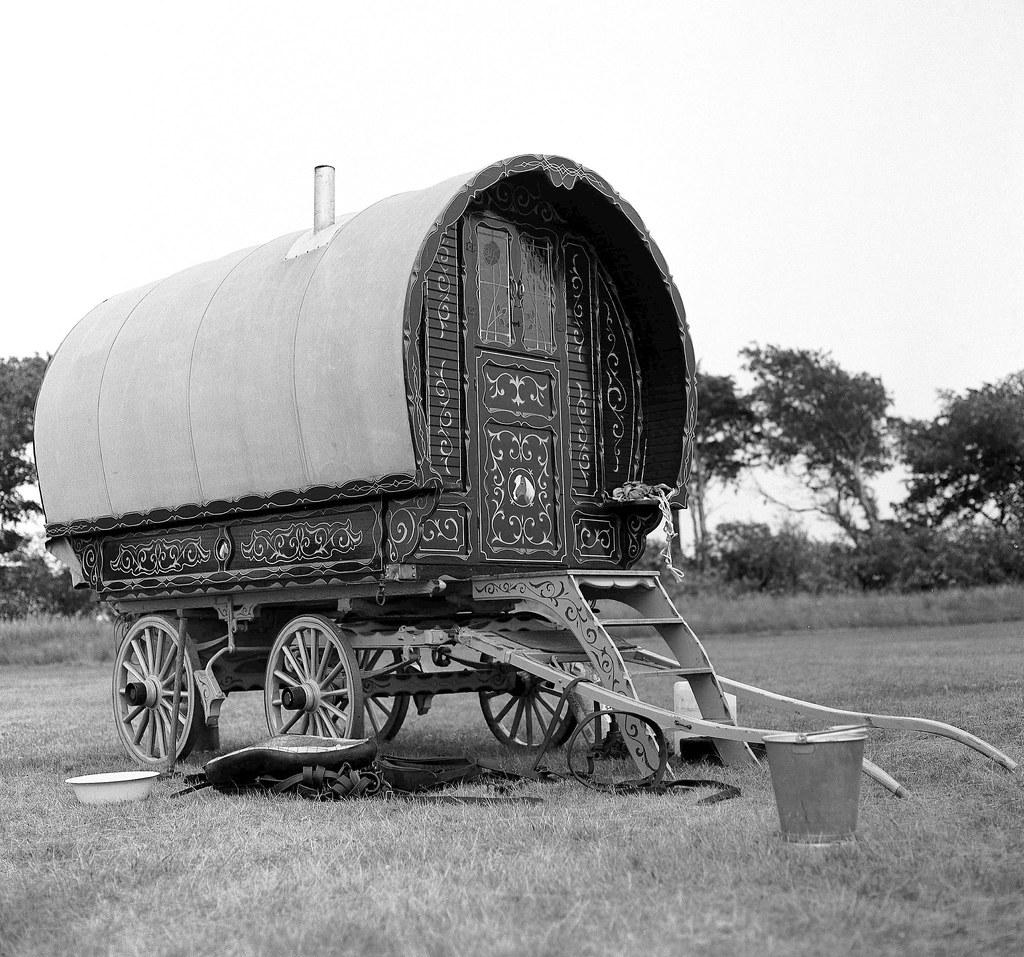 Authentic Romany Bowtop caravan