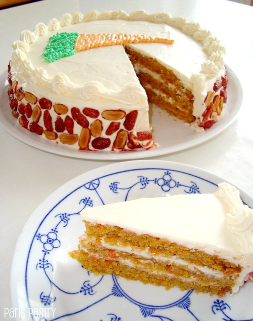 Layer Carrot Cake