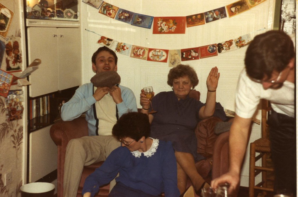 Granny Mary, and Great Granny Gracie, 1980s