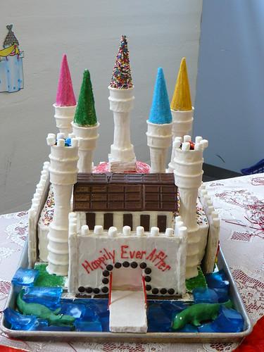 Fairy Tale Castle Cake