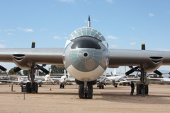 Convair B-36 Peacemaker (head on)