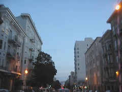 Straight Shot on Hyde at Twilight