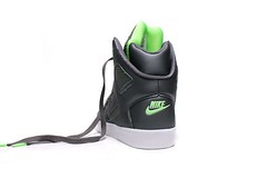 Nike Auto Flight High Electric Green gray colorway