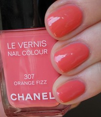 Chanel Le Vernis Orange Fizz #307