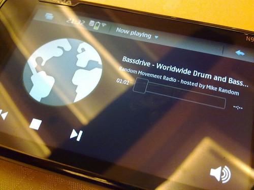 Nokia N900 - BassDrive