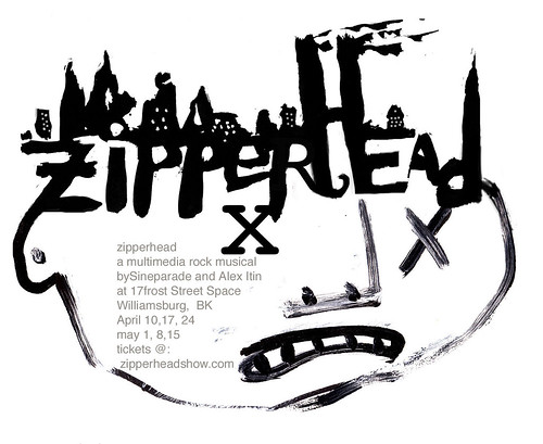 Zipperhead Poster (Alex Itin)