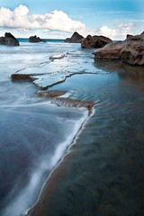 Forresters Beach (Buttz) Tags: sunset beach rocks australia nsw centralcoast forrestersbeach