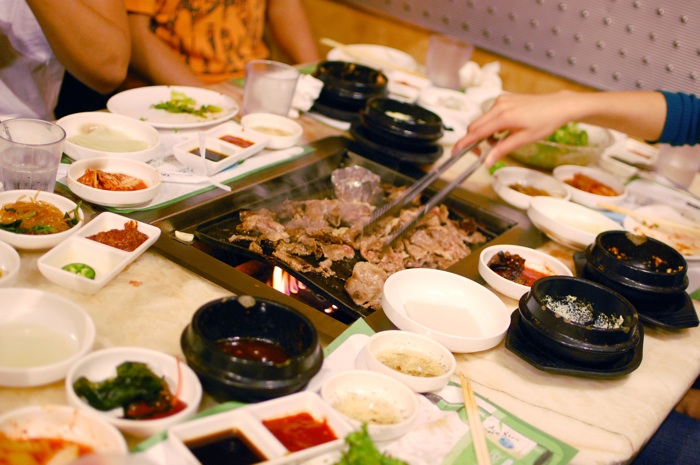 kbbq table