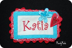 Sew it Together Name tag swap