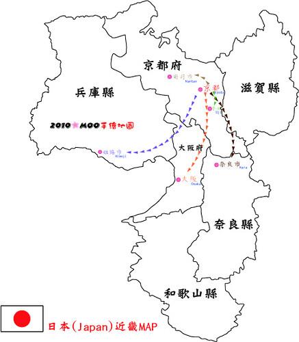 近畿(關西)MAP
