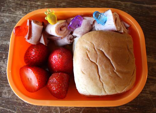 Kindergarten Bento #312: April 14, 2010