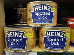 what the heck is this? (kathleen walsh) Tags: blue label dick can spotted heinz evilmini nowayamieatingthis