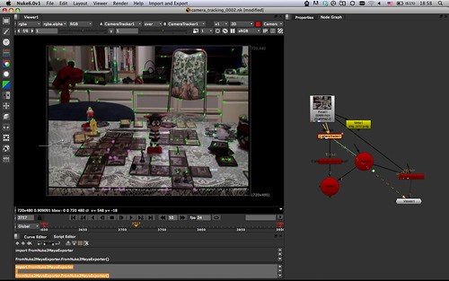 CameraTracker in Nuke: Step 2