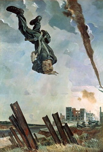 Alexander Deyneka. The knocked down ace. 1943 by MorCheebs