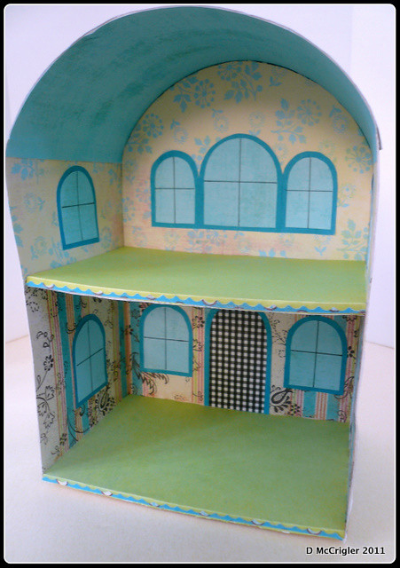 Cute Little Dollhouse interior-2