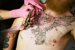 (*Laali*) Tags: house tattoo 35mm sketch williams katie owl wa tacoma unedited anatomical of