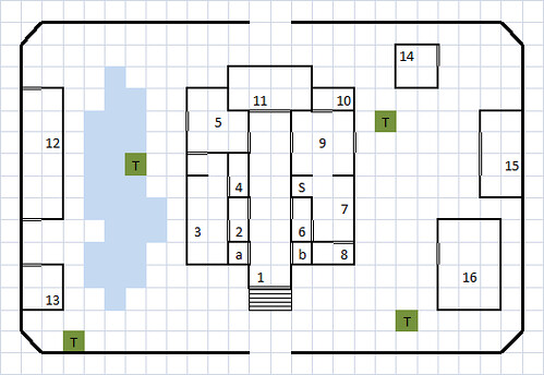 Monastery of Pelor battlemap