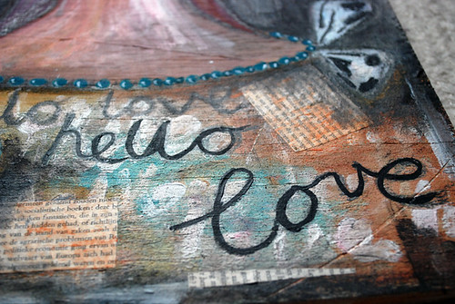 hello love  - detail shot