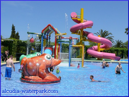 The Spiral in the Alcudia Waterpark