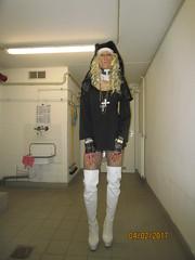 Chantalle (Chantalle_Pozo) Tags: chantallepozo chantalle crossdressing crossdresser cd ass bitch bender blond boy bdsm bitches black blacklevel bh breast brust body deutschland d dragqueen devot drag dienen dress erotik erotisch female fetisch fetish frau femme femmefatale face girl gender germany german hamburg hh highheels hot heels halsband hure kleid kreuz kirche male maid nun nonne church overknees woman weis white