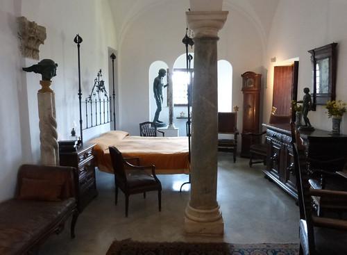 Anacapri, Villa San Michele, Axel Munthe hálószobája