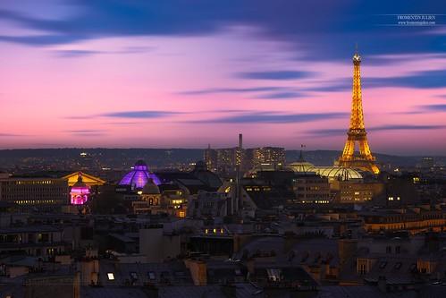 Tour Eiffel, Grand Palais & Coupoles des Grands Magasins, Paris