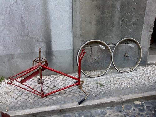Bicicleta para recuperar do J.