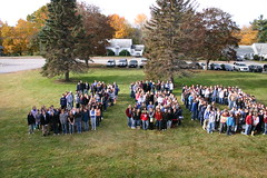 Students at Kennebunk High School, Kennebunk, Maine