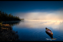 When silence is ..............tranquility! (Imapix) Tags: mist canada art nature sunrise canon photography photo foto photographie quebec canoe adventure qubec wilderness brouillard canot brume aventure imapix canoing cano gaetanbourque 100commentgroup vosplusbellesphotos imapixphotography gatanbourquephotography