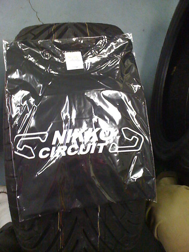 The best thing ive gotten in Japan thus far: A Nikko Circuit Shirt!