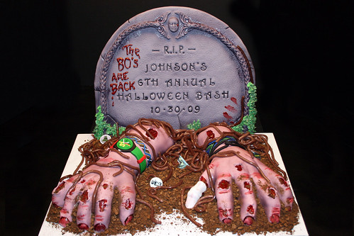 Zombie Hands out of Grave