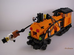 Jack 'O Lantern Locomotive pic 1
