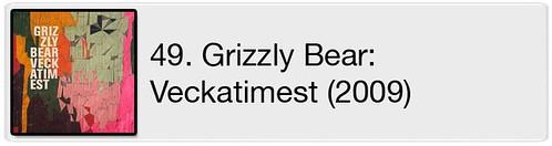 49. Grizzly Bear - Veckatimest (2009)