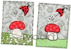 Ladybug ATCs