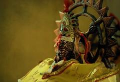 Lakshmi, the Goddess of wealth... (Atul Tater) Tags: worship lakshmi religion idol hindu prosperity ndia ncredible goddessofwealth