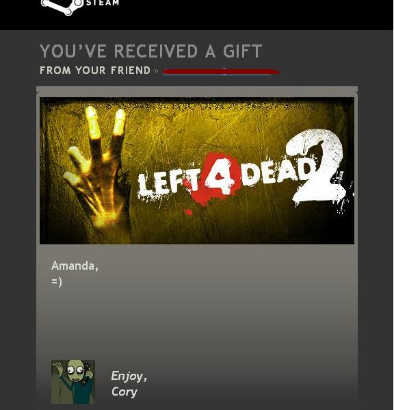 OMG!!!!!!!!! Steam gift or The Kindness of Strangers
