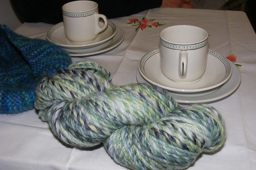 Tea and yarn