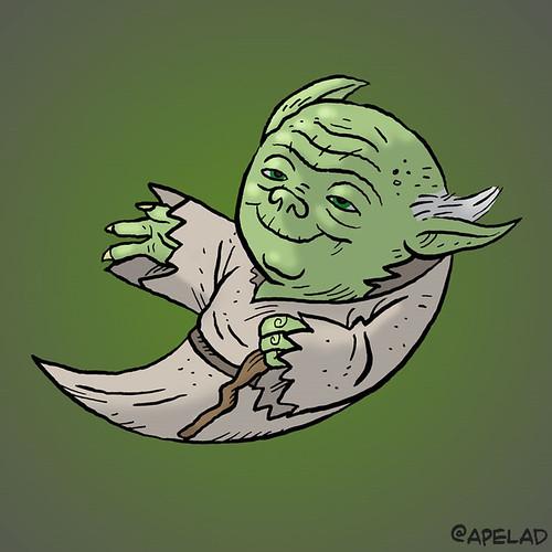 Yoda Twitter Avatar